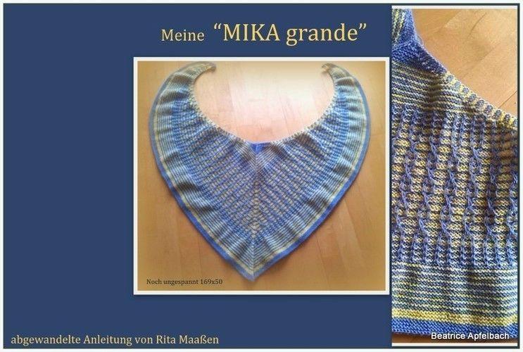Makerist - MIKA grande aus solargefärbter Wolle - Strickprojekte - 1