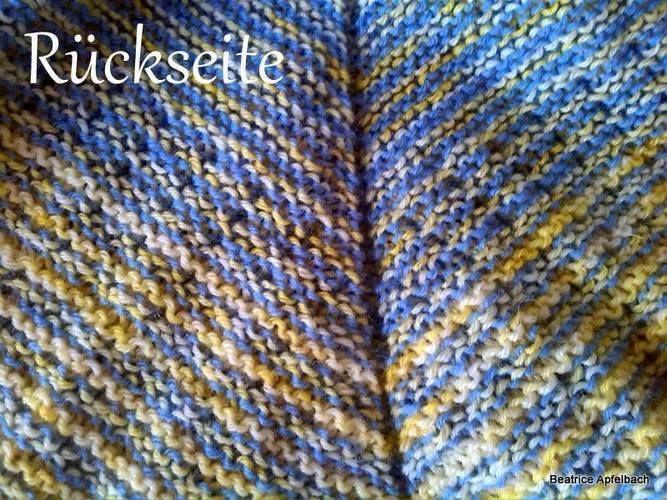 Makerist - MIKA grande aus solargefärbter Wolle - Strickprojekte - 3