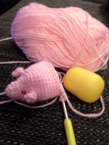 Makerist - Drei kleine Schweinchen - Häkelprojekte - 2