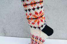 Makerist - Socken mit Norwegerstern für Gr. 39/40 - 1