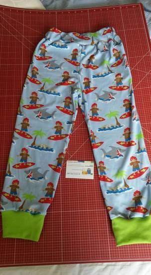 Makerist - Kinderhose in 110 Sommer - 1