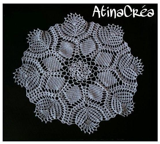 Makerist - Napperon crochet 46 cm de diamètre  - Créations de crochet - 1