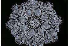 Makerist - Napperon crochet 46 cm de diamètre  - 1