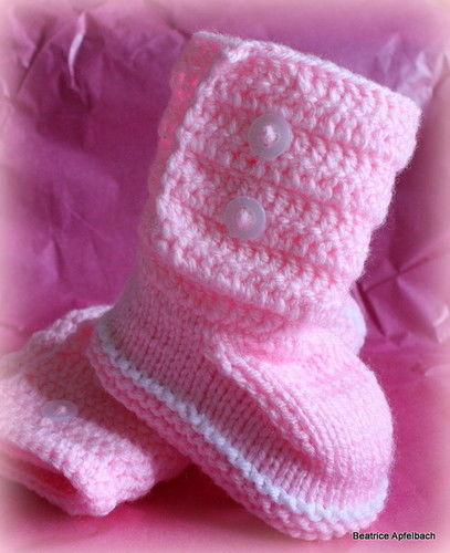"Makerist - Bootie ""Girl"" - Strickprojekte - 3"