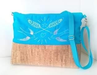 Makerist - Schwalben :-) diese Tasche habe ich für mich gemacht :-)  - 1