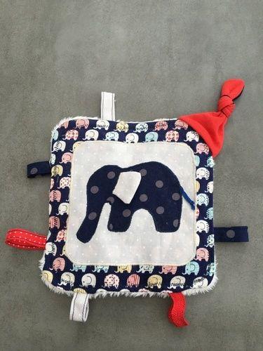 Makerist - Knistertuch Elefant  - Nähprojekte - 1