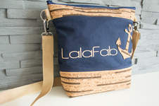 Makerist - Design Award Kork: maritime LalaFab-Tasche - 1