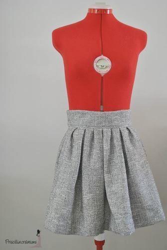 Makerist - Jupe plissée femme - Créations de couture - 1