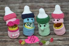 Makerist - Sweepies Ü-Babyflasche zur Geburt - 1