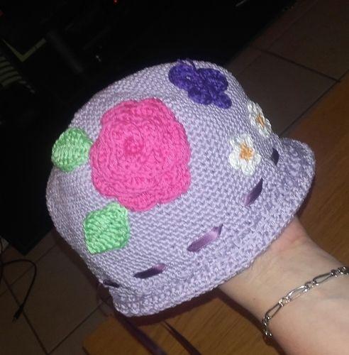 Makerist - Chapeau fille - Créations de crochet - 1