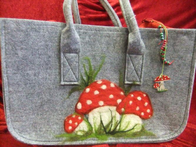 Makerist - Filztasche mit aufgefilztem Motiv - DIY-Projekte - 1