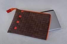 Makerist - Laptoptasche verflochten und gequiltet - 1
