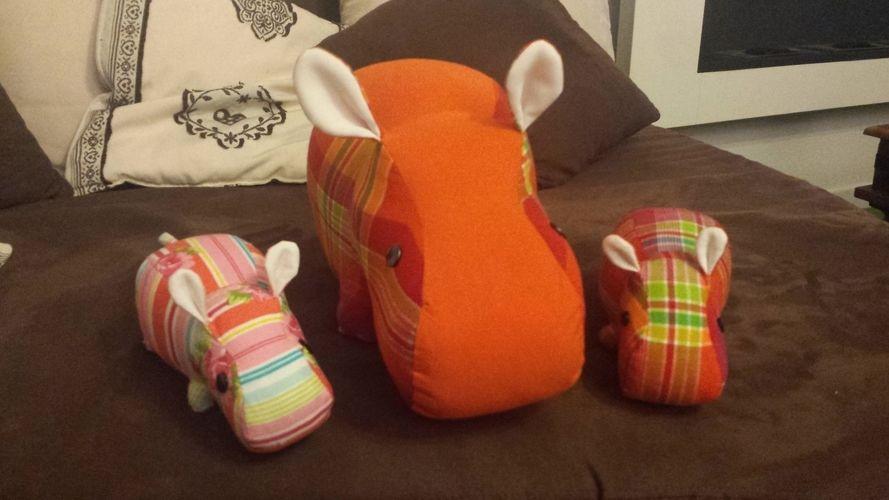 Makerist - La famille hippo  - Créations de couture - 2
