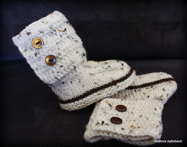 "Makerist - Babybotties ""Boy"" - Strickprojekte - 2"