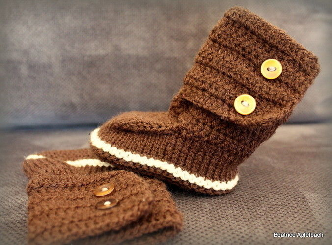 "Makerist - Babybotties ""Boy"" - Strickprojekte - 3"