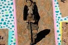 Makerist - Muttertagsgrüße auf Korkpapier - 1