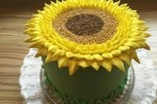 Makerist - Sunflower Cake - 1