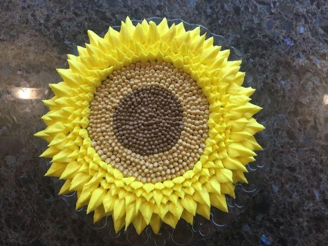 Makerist - Sunflower Cake - Torten, Cake Pops und Cupcakes - 2