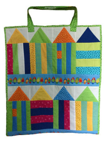 Makerist - Badetasche und Unterlage in einem ist diese Tasche - Patchwork-Projekte - 1