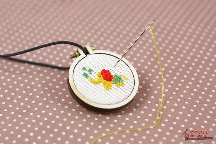 Makerist - Nelefant für Poshy - Textilgestaltung - 1