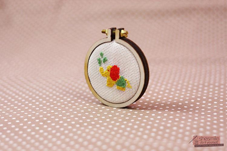 Makerist - Nelefant für Poshy - Textilgestaltung - 3