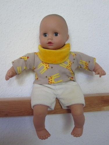 Makerist - für den Frühling: ein Halstuch und ein passendes Puppenoutfit - Nähprojekte - 2
