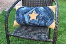 Makerist - Design Award Kork: Kissen aus Jeans und Kork - 1
