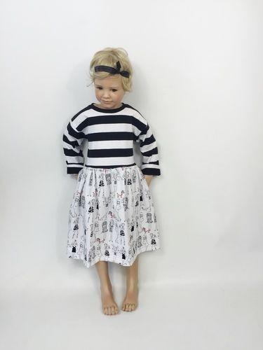 Makerist - Eine Kleidchen aus Jersey - Nähprojekte - 1