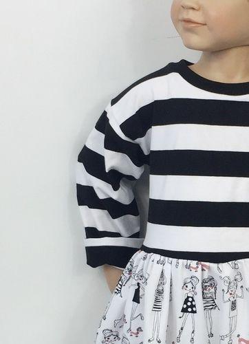 Makerist - Eine Kleidchen aus Jersey - Nähprojekte - 2