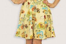 Makerist - Vintage style half circle skirt - 1