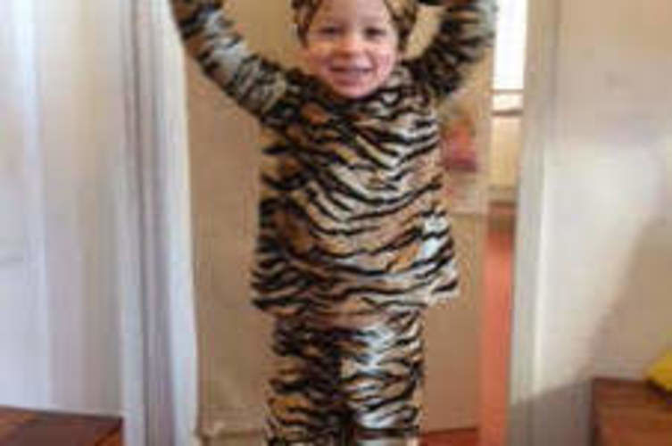 Makerist - Kids Tiger costume - Werkzimmer - 1