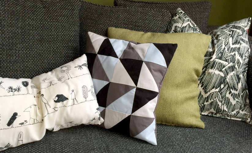 Makerist - HST Pillow - Sewing Showcase - 1
