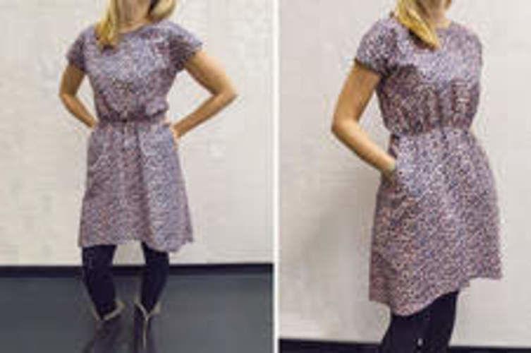 Makerist - Basic dress with shirring - Werkzimmer - 1