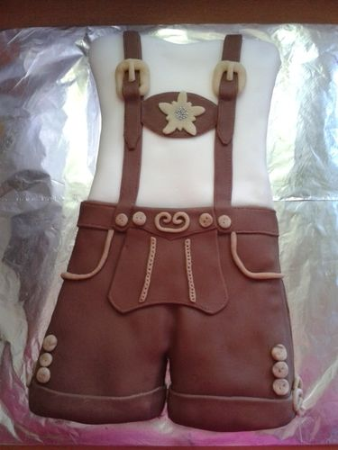 Makerist - Lederhosn - Torten, Cake Pops und Cupcakes - 1