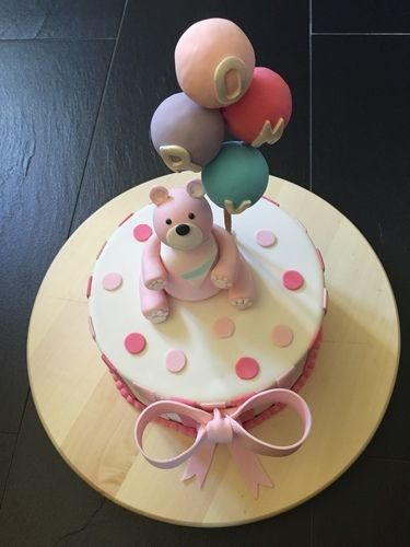Makerist - Tauftorte für Romy - Torten, Cake Pops und Cupcakes - 2