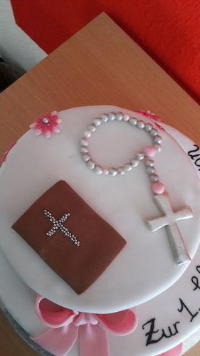 Makerist - Kommunion-Torte  - Torten, Cake Pops und Cupcakes - 2