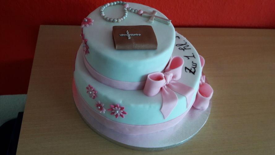 Makerist - Kommunion-Torte  - Torten, Cake Pops und Cupcakes - 3