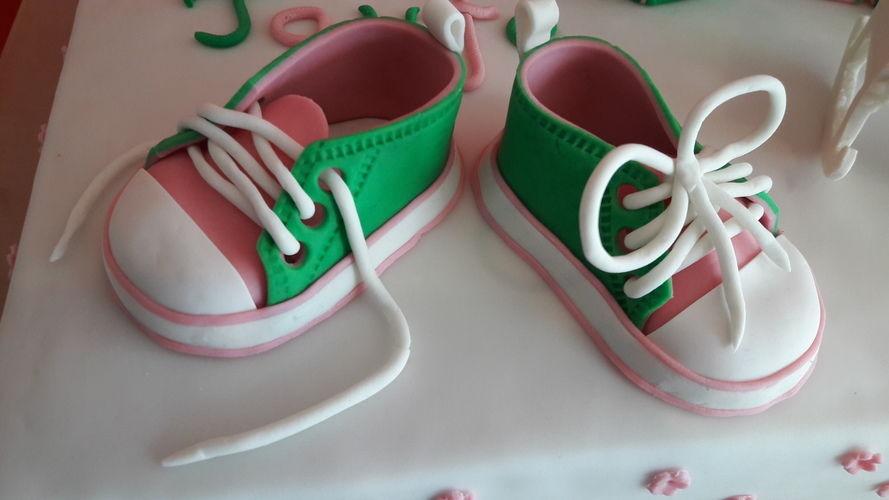 Makerist - Tauftorte für Lea  - Torten, Cake Pops und Cupcakes - 3