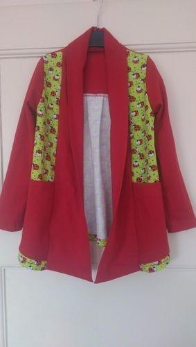 "Makerist - cardigan ""Open Sea"" aus jersey für meine Enkelin - Nähprojekte - 1"