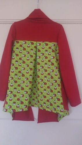 "Makerist - cardigan ""Open Sea"" aus jersey für meine Enkelin - Nähprojekte - 2"