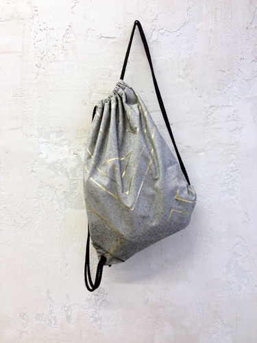 Makerist - metallic foil // gym bag - Sewing Showcase - 1