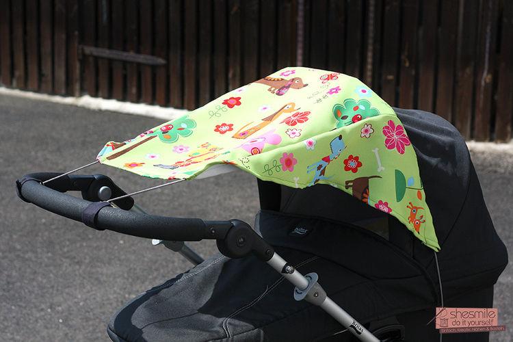 Makerist - Sonnensegel für den Kinderwagen - Nähprojekte - 1