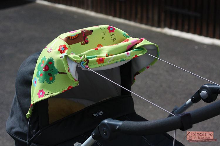 Makerist - Sonnensegel für den Kinderwagen - Nähprojekte - 2