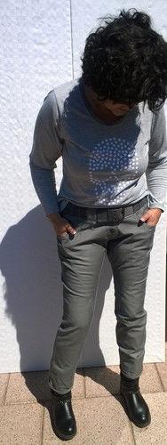Makerist - Boyfriend Jeans - Nähprojekte - 1