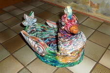 Makerist - Vannerie Canard en Rotin (Papier journal) - 1
