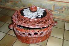Makerist - Vannerie Corbeille en Rotin (papier journal) - 1