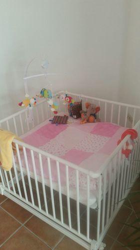 Makerist - Babydecke rosé für Großnichte Julia - Nähprojekte - 1