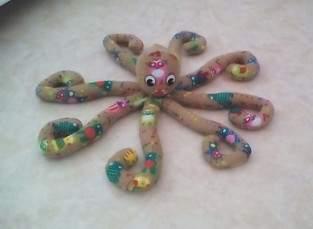 une adorable pieuvre !