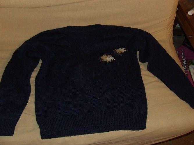 Makerist - Pull rebrodé - Créations de tricot - 1