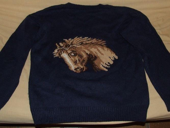 Makerist - Pull rebrodé - Créations de tricot - 2